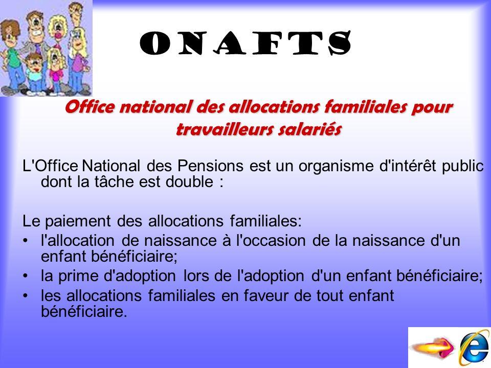Office national des allocations familiales pour travailleurs salariés