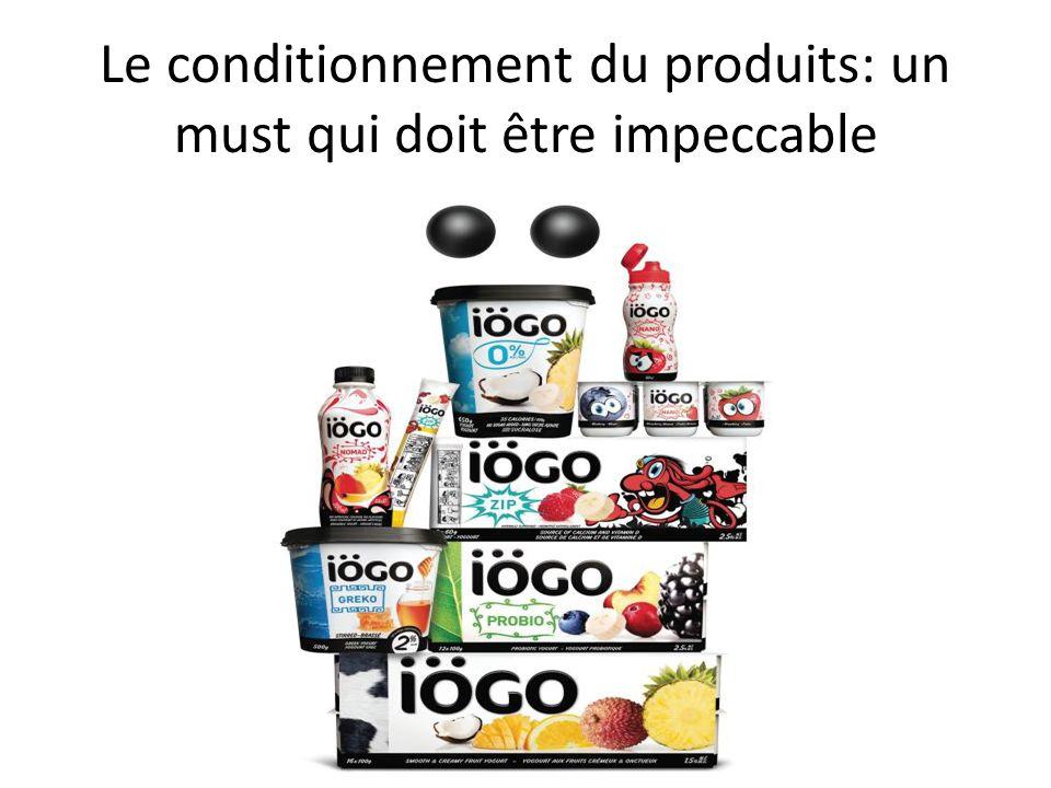 Le conditionnement du produits: un must qui doit être impeccable