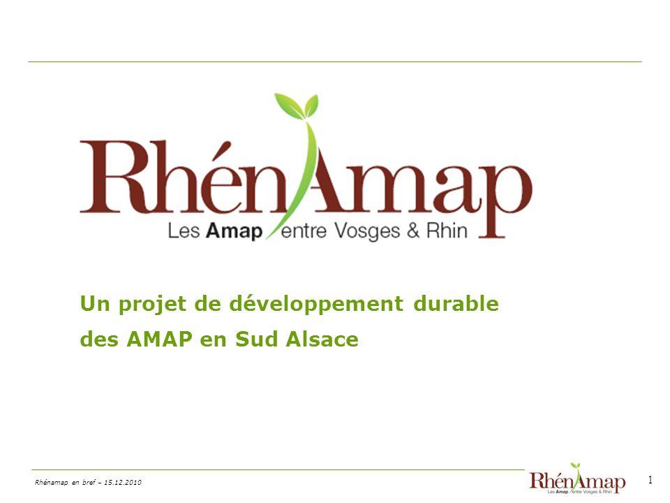 Un projet de développement durable