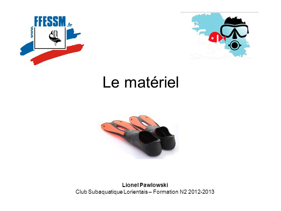 Club Subaquatique Lorientais – Formation N2 2012-2013
