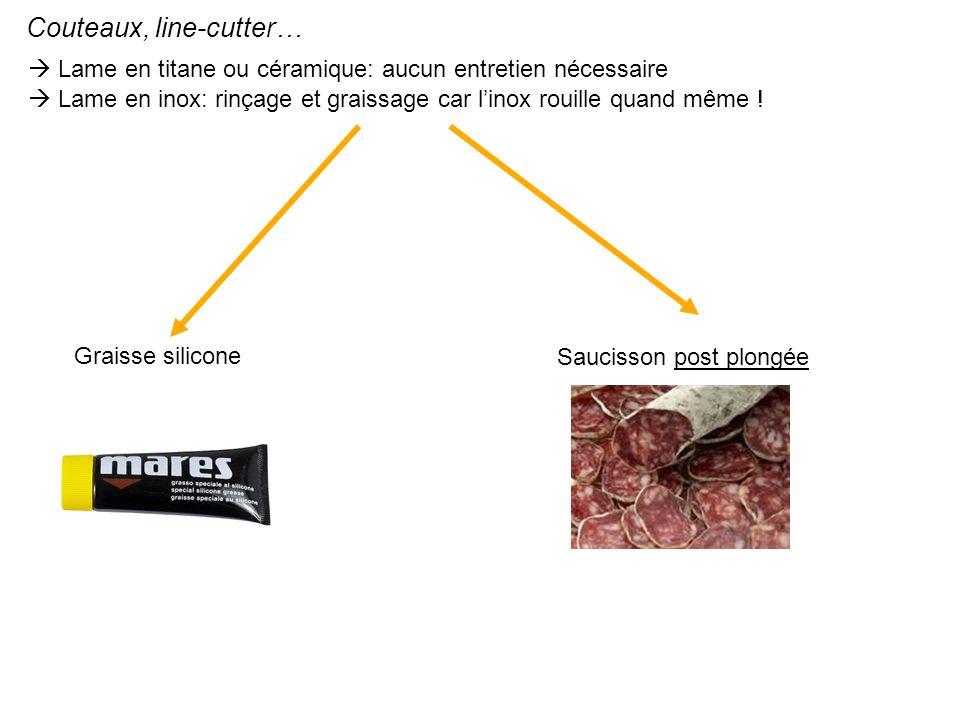 Couteaux, line-cutter…