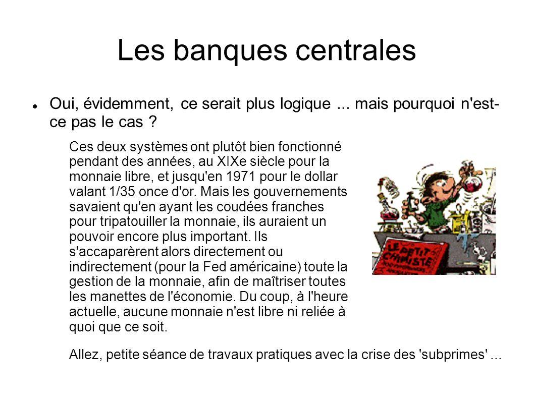 Les banques centrales