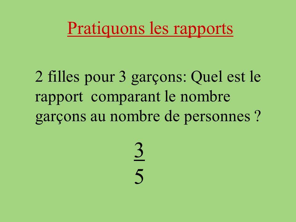 3 5 Pratiquons les rapports