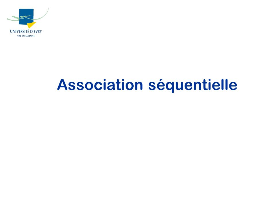 Association séquentielle