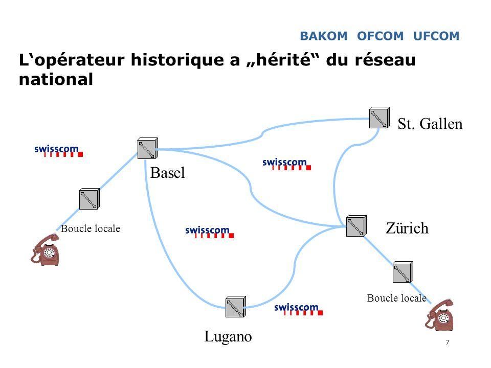 """L'opérateur historique a """"hérité du réseau national"""
