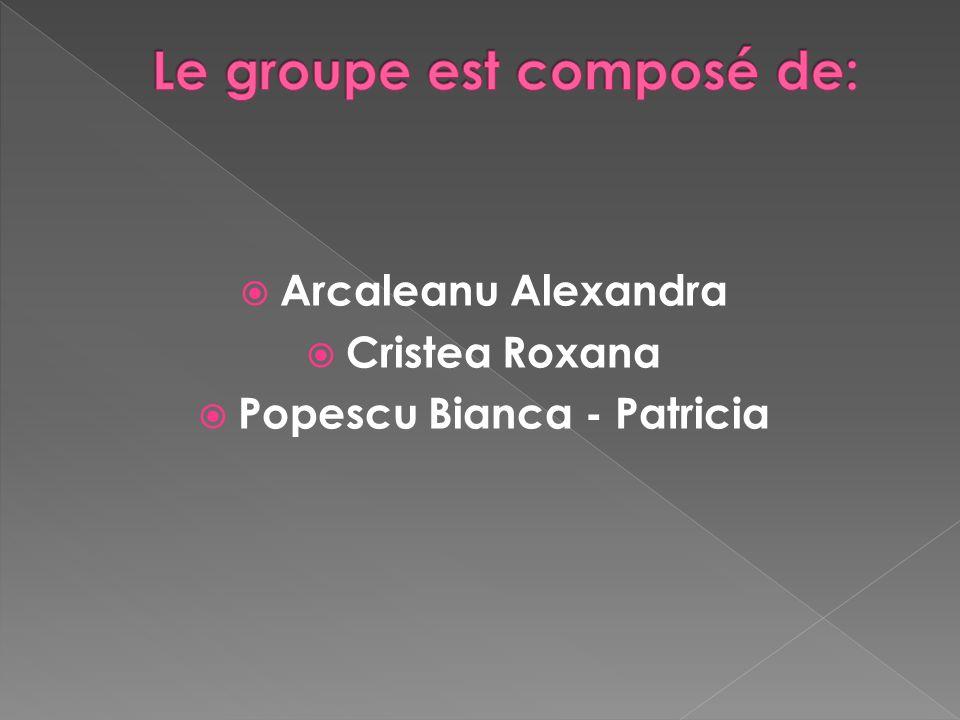 Le groupe est composé de: