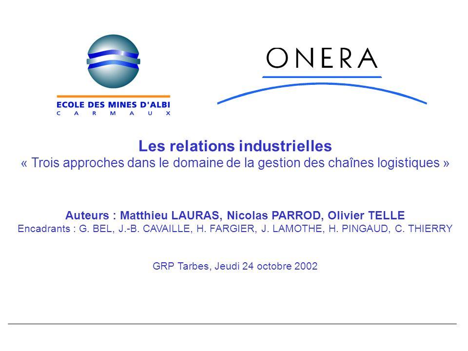 Les relations industrielles