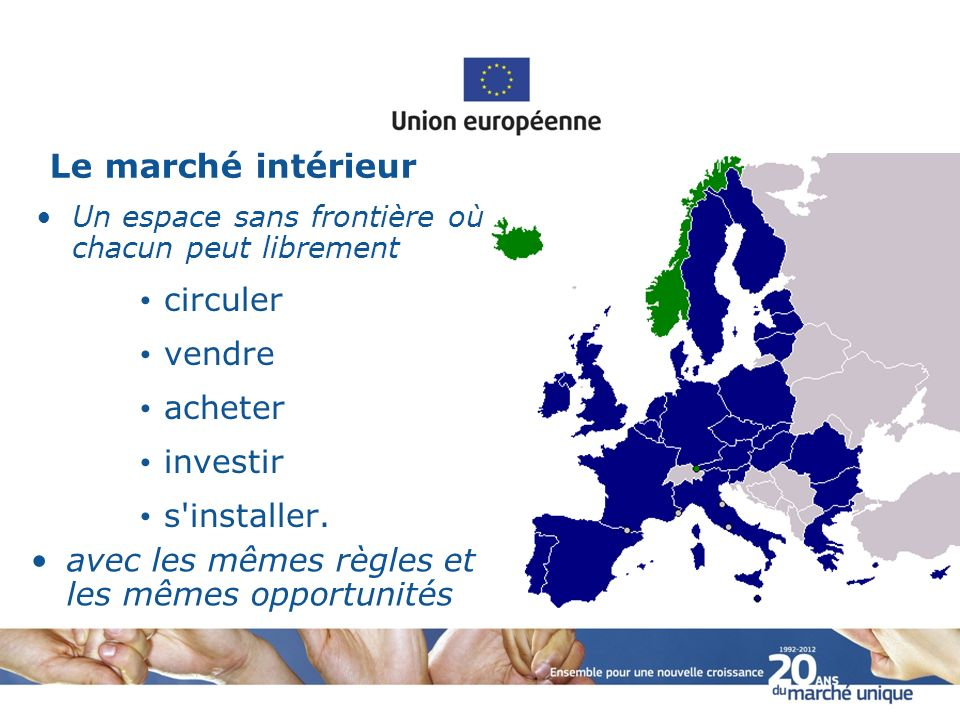 Les avanc es du march unique ppt video online t l charger for Marche interieur