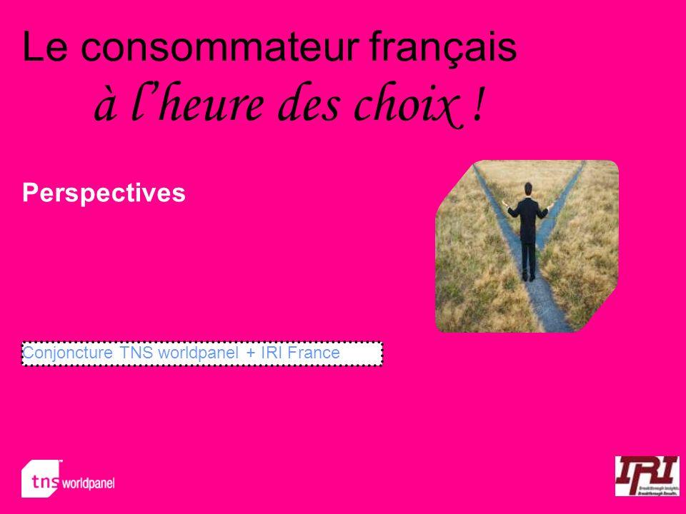 Le consommateur français à l'heure des choix !