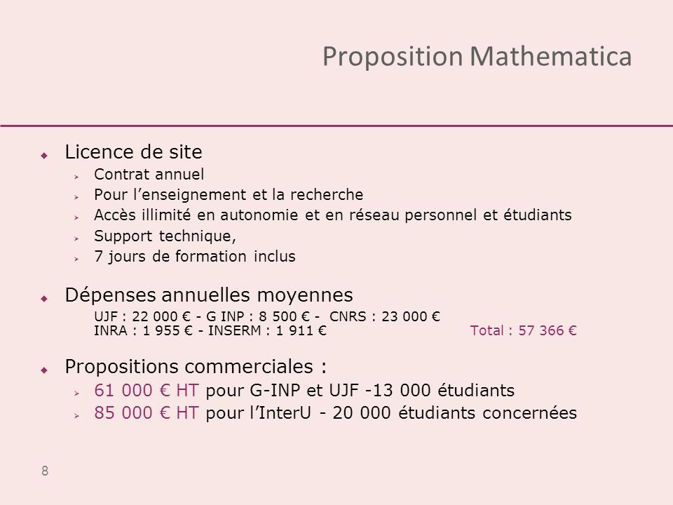 Proposition Mathematica