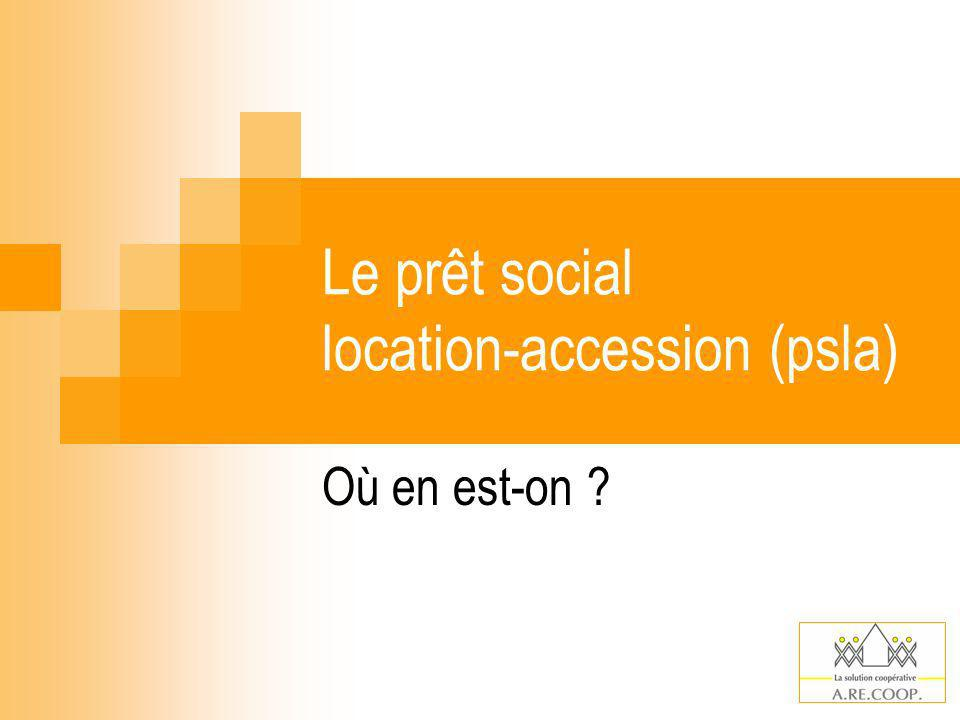 Le prêt social location-accession (psla)