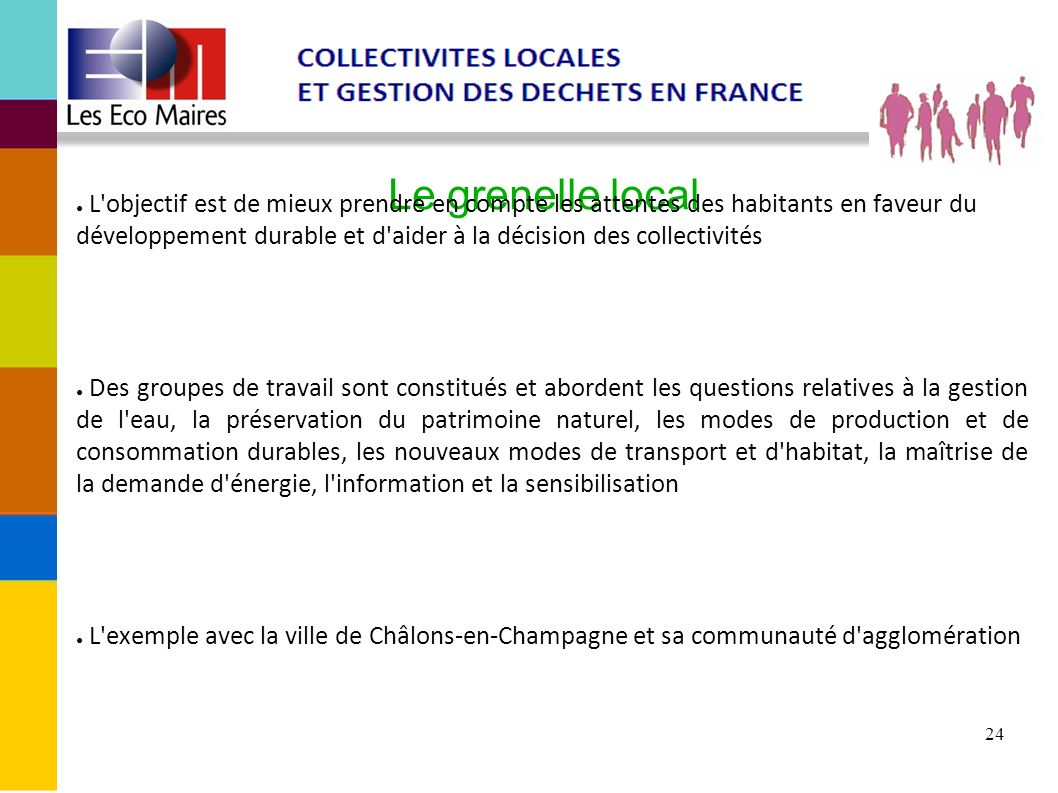 Le grenelle local