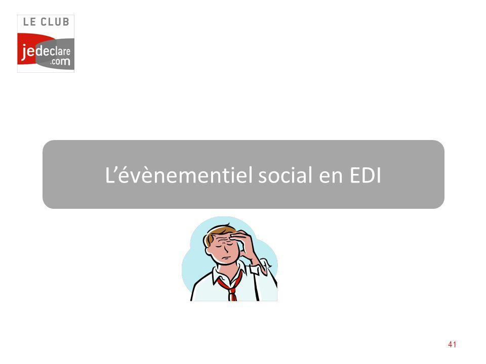 L'évènementiel social en EDI