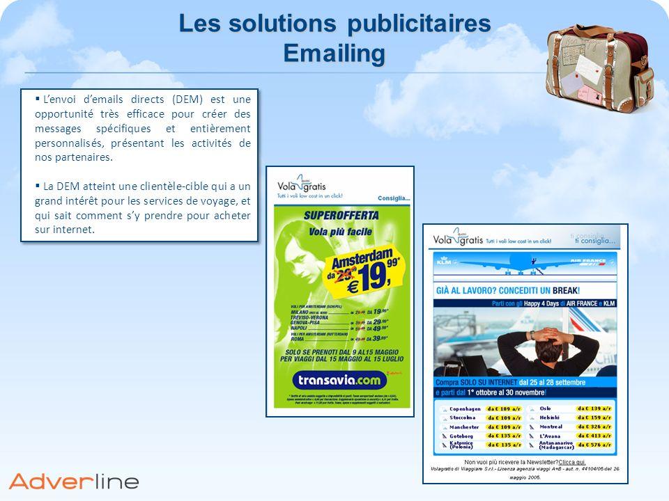 Les solutions publicitaires