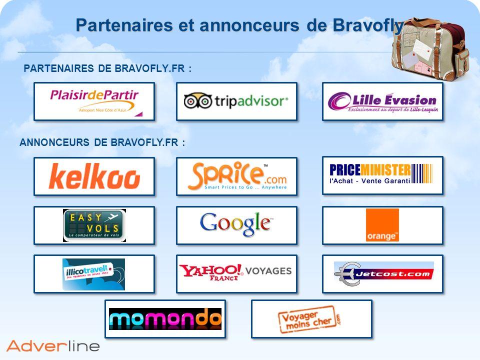 Partenaires et annonceurs de Bravofly