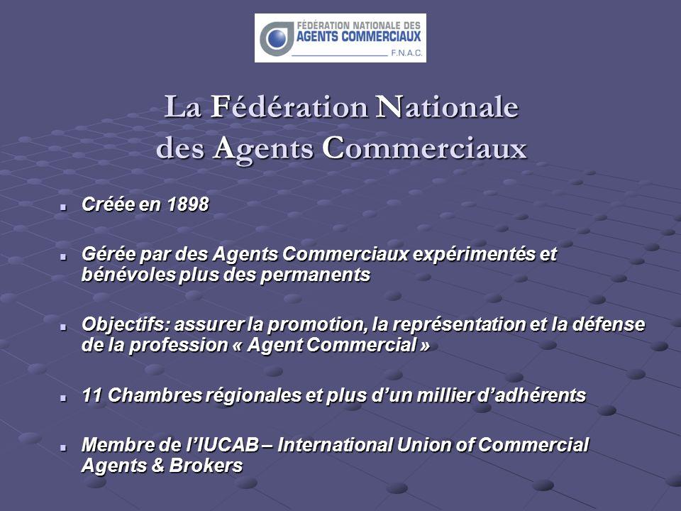 La Fédération Nationale des Agents Commerciaux