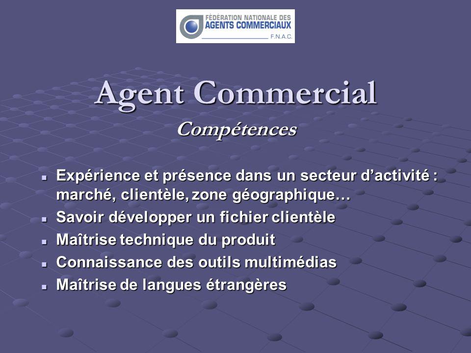 Agent Commercial Compétences
