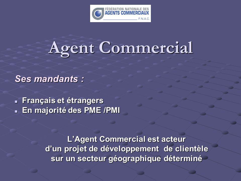 Agent Commercial Ses mandants : Français et étrangers