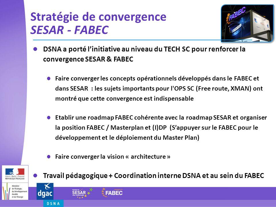 Stratégie de convergence SESAR - FABEC