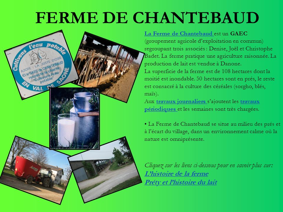 FERME DE CHANTEBAUD