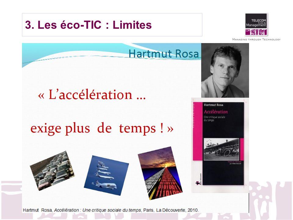 3. Les éco-TIC : Limites