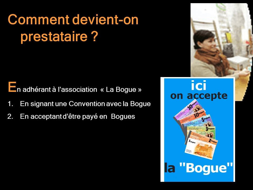 Comment devient-on prestataire