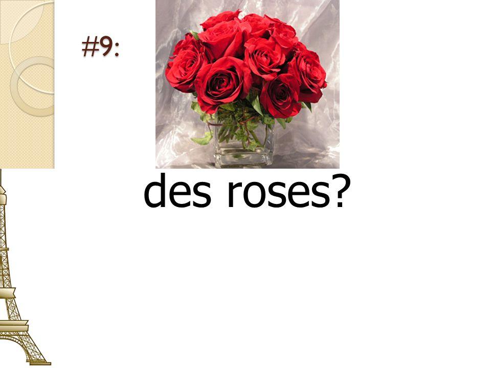 #9: des roses