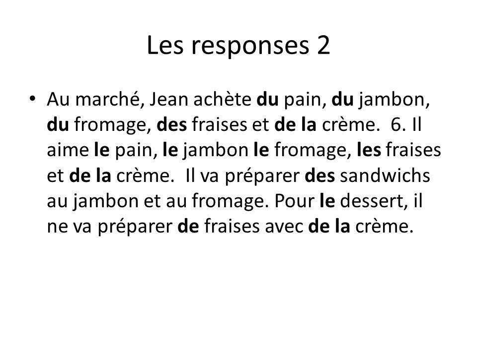 Les responses 2