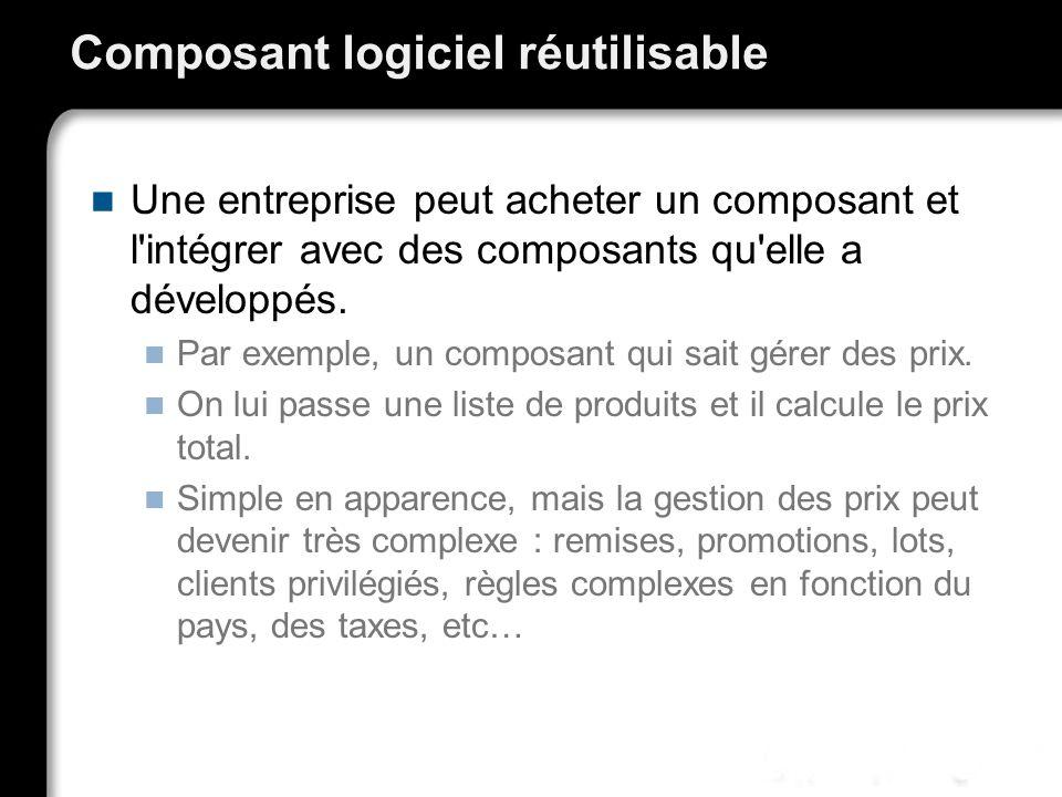 Composant logiciel réutilisable