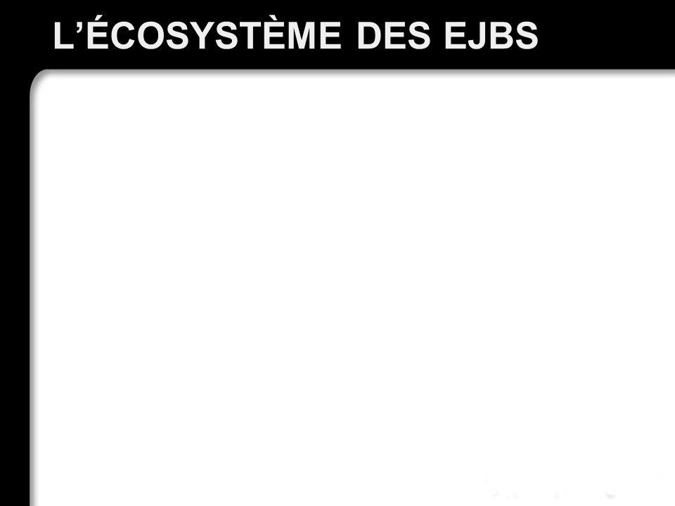 L'écosystème des EJBs