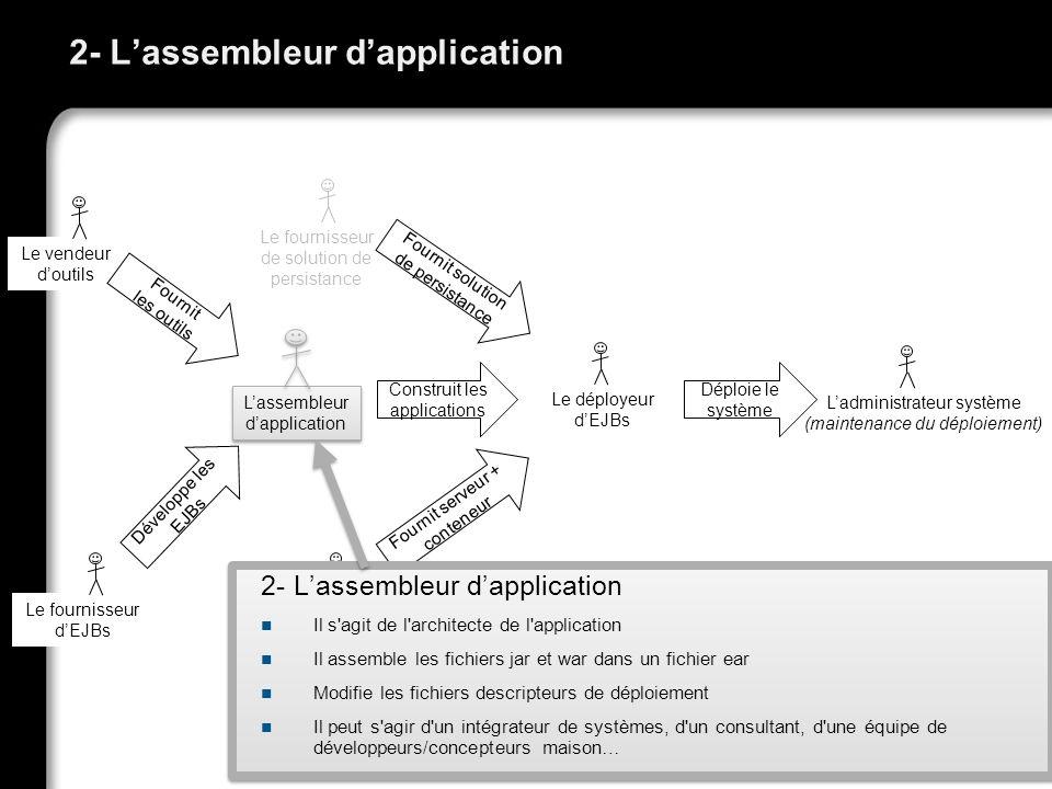 2- L'assembleur d'application