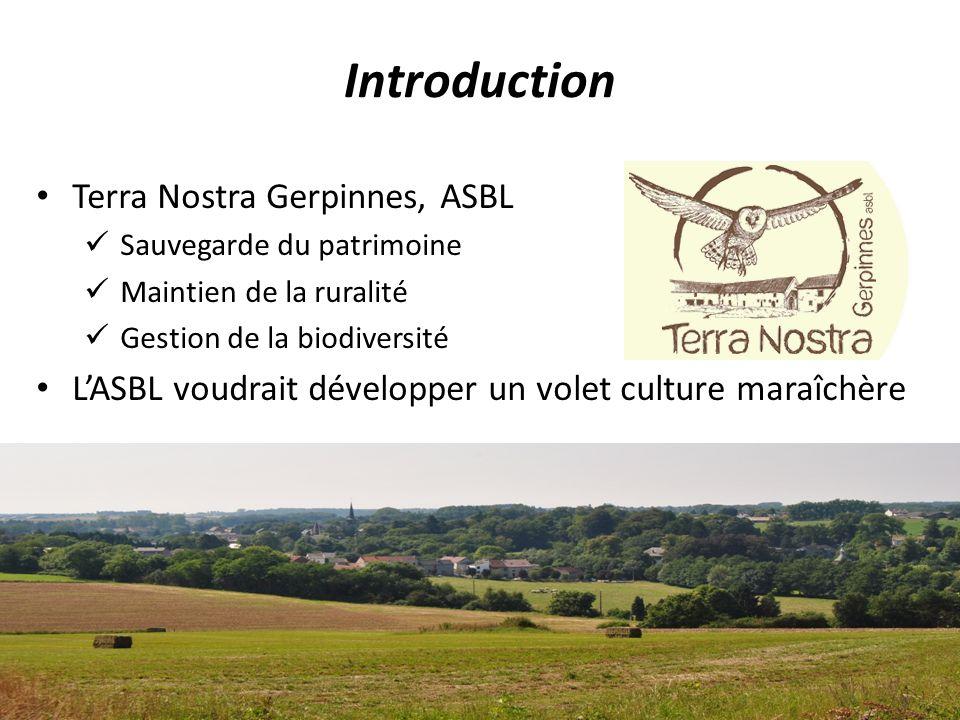 Introduction Terra Nostra Gerpinnes, ASBL