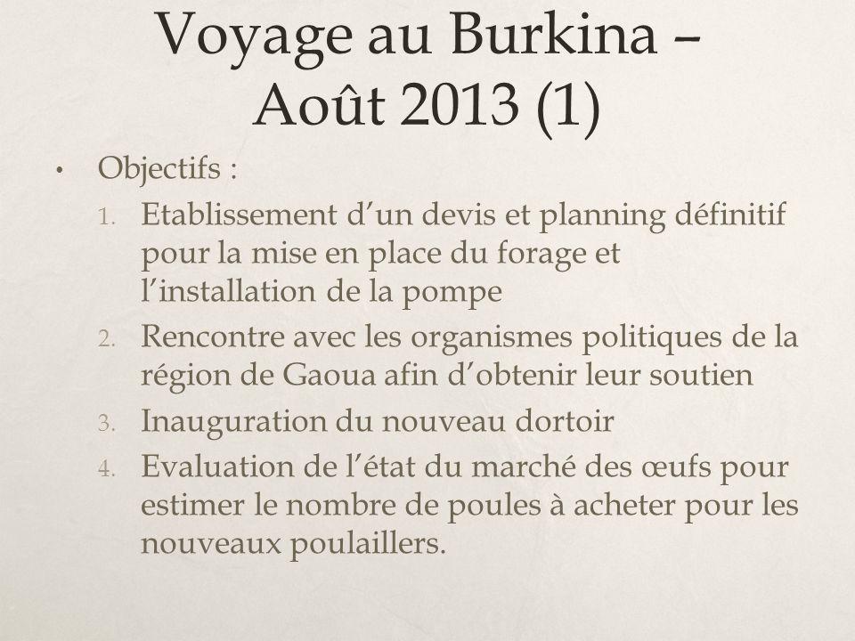 Voyage au Burkina – Août 2013 (1)
