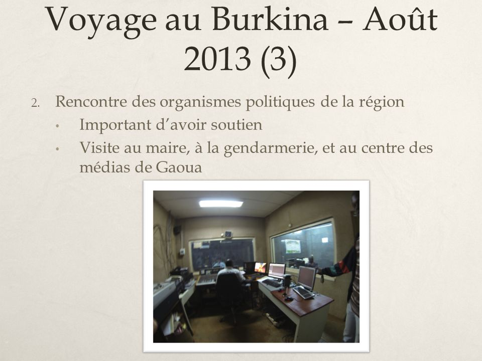 Voyage au Burkina – Août 2013 (3)
