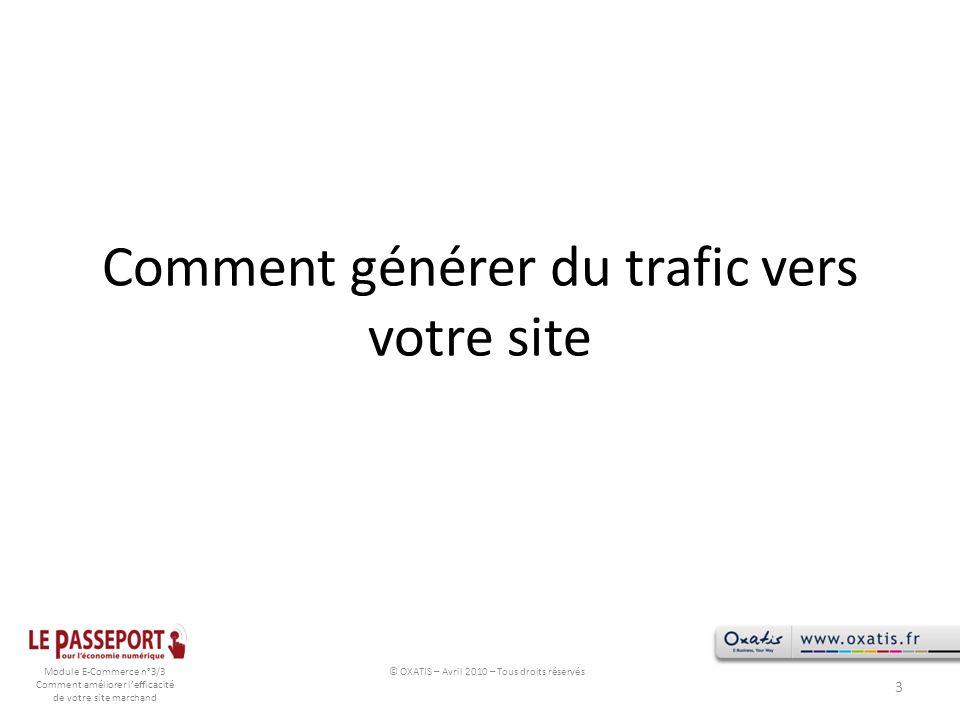 Comment générer du trafic vers votre site