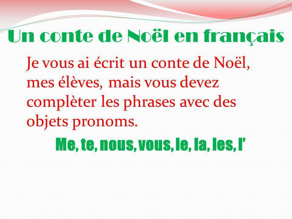 Un conte de Noël en français