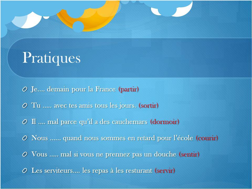 Pratiques Je.... demain pour la France (partir)