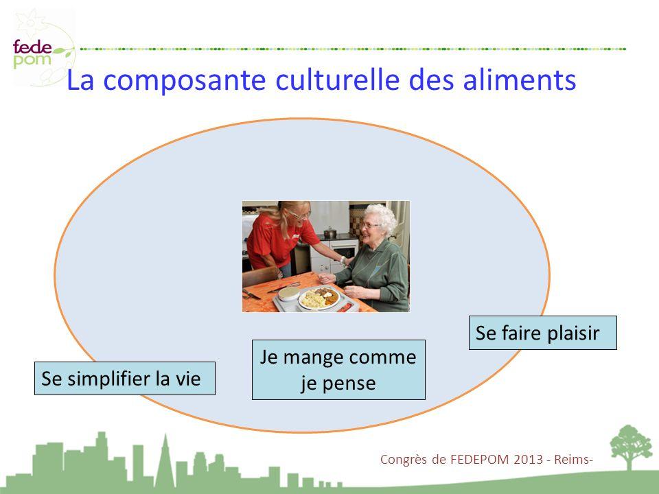 La composante culturelle des aliments