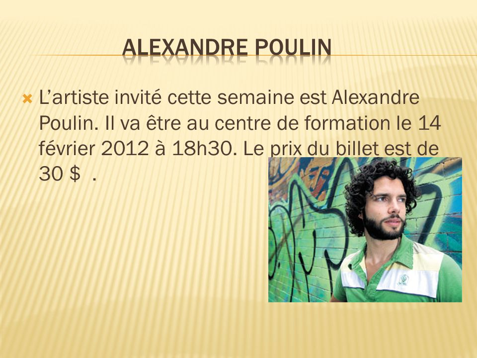 Alexandre Poulin