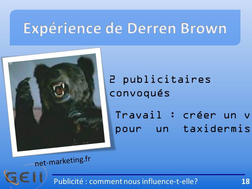Expérience de Derren Brown