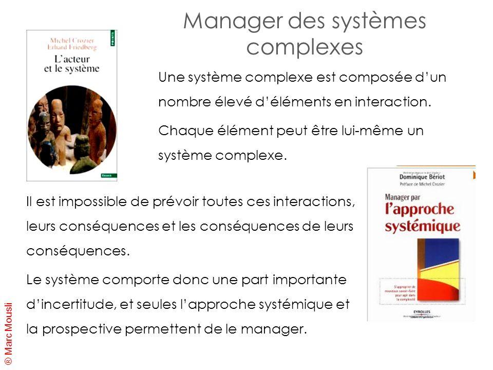Manager des systèmes complexes