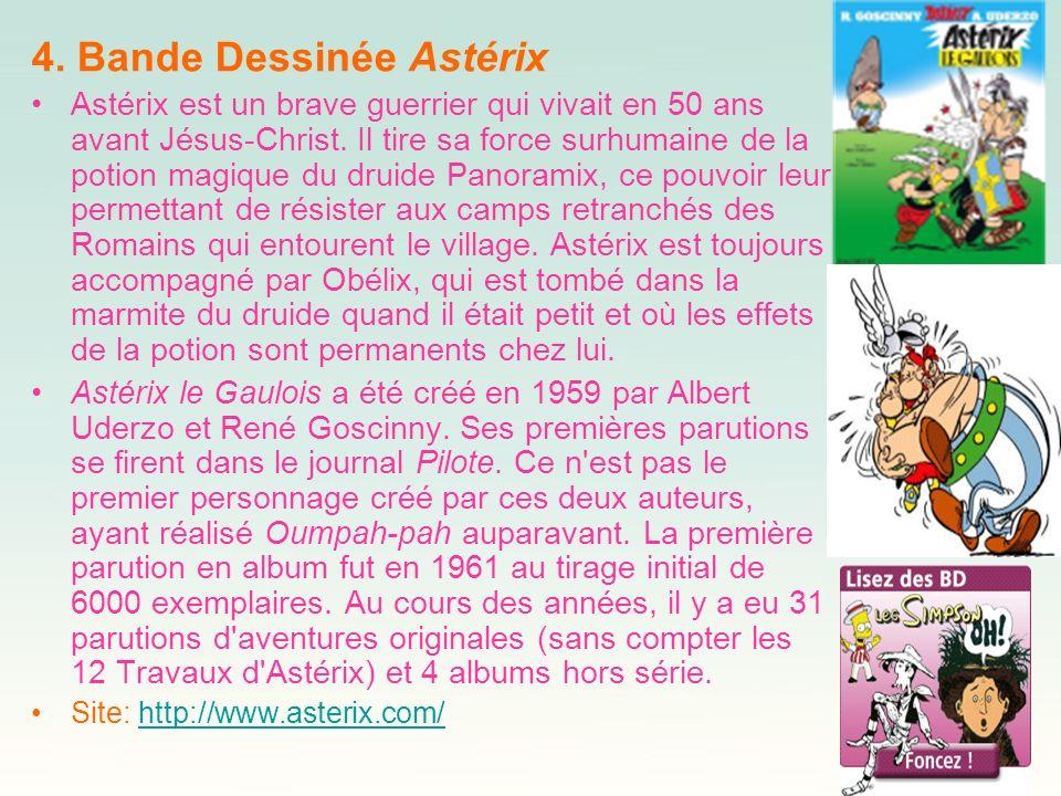 4. Bande Dessinée Astérix