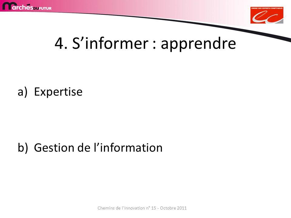 4. S'informer : apprendre
