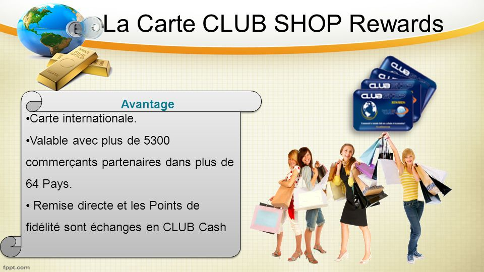La Carte CLUB SHOP Rewards