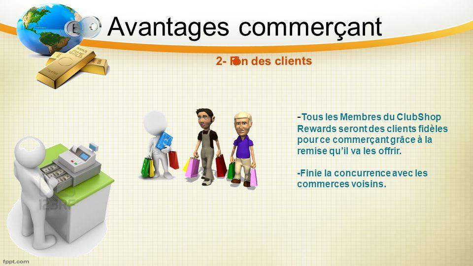 2- Fidélisation des clients