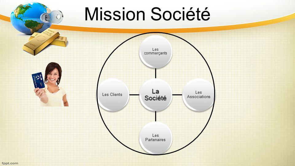 Mission Société Les commerçants La Société Les Associations