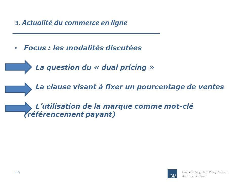3. Actualité du commerce en ligne