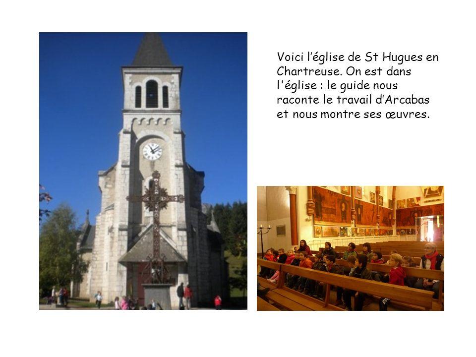 Voici l'église de St Hugues en Chartreuse