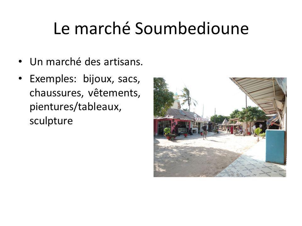 Le marché Soumbedioune