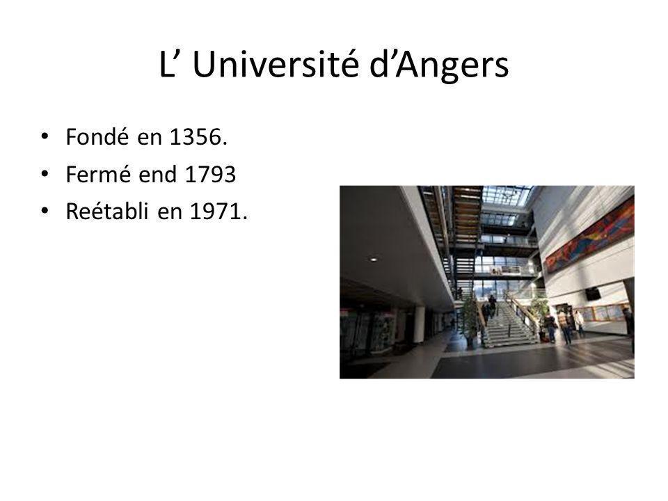 L' Université d'Angers